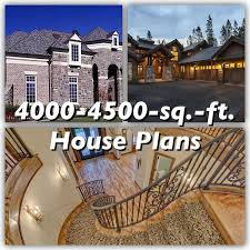 4000 to 4500 square foot house plans
