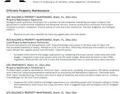 Resume For Maintenance Gorgeous Building Maintenance Sample Resume Sample Resume Maintenance Worker