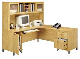 best l shaped computer desk with hutch bush wc81410k somerset 71 l shaped desk maple cross free