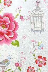 Birds In Paradise Wallpaper White Pip Studio The Official Website