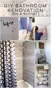 diy bathroom renovation i love that it breaks it down into stages i