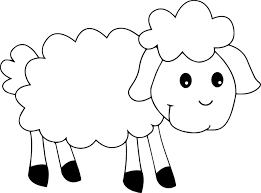Small Picture Cute Sheep Coloring Page Wecoloringpage