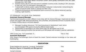 Catering Sales Manager Resume Catering Resume Sample Breakupus