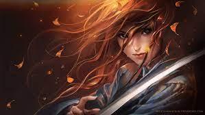 25+ Wallpaper Anime Girl Ruiva - Baka ...