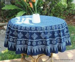 european round outdoor tablecloth with umbrella hole
