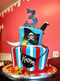Pirate Birthday Cake Wyatts 3rd Birthday Party E Wys B Day