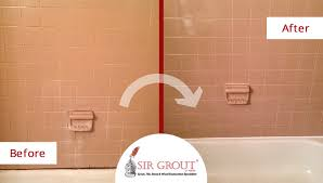 old bathroom tile. Before And After Picture Of A Bathroom Tile Grout Cleaning Service In Marietta, Georgia Old T