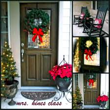 Porch Decorations For Christmas Ideas Home Designs Outside Image Upr