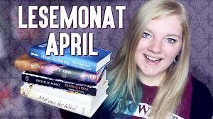 MONATSRÜCKBLICK APRIL | Bücher & Serien | Lesemonat - YouTube