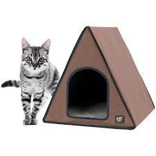 Cat House Cat House Outdoor Heated Cat House Bed Frontpetcom