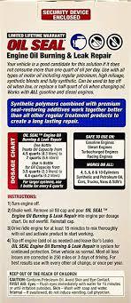 Engine Oil Chart For All Vehicles Amazon Com Bars Leaks Os 1 Seal Engine Oil Burning Leak