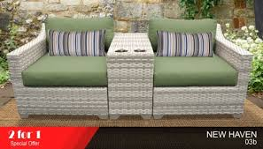 white wicker outdoor chairs