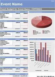 Event Budget Sample Formal Generic Event Budget Template Entrepreneuress Budget