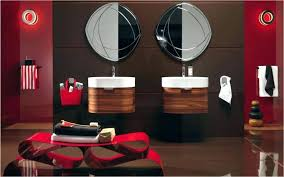 Black Red Bathroom Accessories Red Bathroom Sets Bathroom Black And