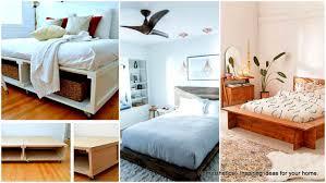 Brilliant study space design ideas Hidden Logical Operator 29 Brilliant Easy To Build Diy Platform Bed For Cozy Bedroom
