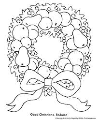 Advent Wreath Coloring Page Awesome Colouring Pages Christmas Wreath