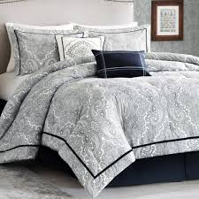 Bedroom: Luxury Embossed Solid Oversized Bedding With Black And ..