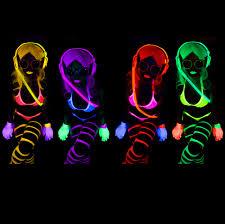 glow party uv blacklight glow paint face body paint uv reactive neon glow makeup paint set