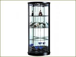 corner display cabinets with glass doors