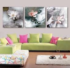 3 panel wall art oil painting lotus painting home decoration canvas prints pictures for living room on lotus panel wall art with china 3 panel wall art oil painting lotus painting home decoration