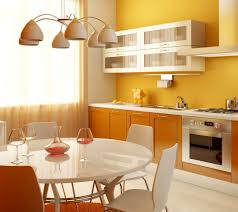 Orange And White Kitchen Kitchen Color Trends With White Cabinets Pertaining To Kitchen