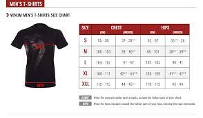 Tank Top Size Chart Men Venum Size Guide Venum Com Us