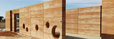 rammed earth technical information