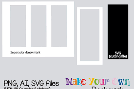 Template For Picture Collage Bookmark Template Digital Collage Sheet Template Digital Template Collage Template Printable Template Png Ai Svg Format
