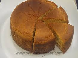 How To Make Eggless Sponge Cake Recipe By Masterchef Sanjeev Kapoor