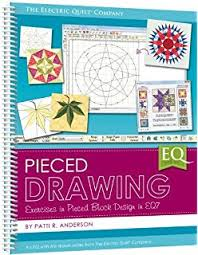 Amazon.com: The Electric Quilt Co. Quilt Design Wizard-: Arts ... & Pieced Drawing (2013) Spiral Large Format EQ7 Book Electric Quilt Company  by Electric Quilt Adamdwight.com