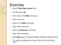 Microsoft Office Exercises Rome Fontanacountryinn Com