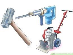 how to remove tile from concrete floor how to remove tile floor image titled remove floor tile step 2 cost to remove tile how to remove tile floor remove
