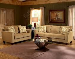 Living Room Sofa And Loveseat Sets Barton Camel Fabric Casual Living Room Sofa Loveseat Set