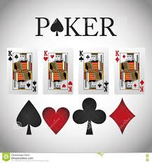 Poker Design Poker Design Cards And Game Concept Casino Games Stock