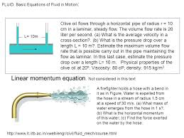 23 linear momentum equation