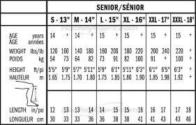 Bauer Supreme Size Chart Bauer Supreme 1s Hockey Shin Guards 2017 Senior Hockey