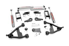 torsion lift kit. 2.5in suspension lift kit for 82-04 chevy 4wd s10 / gmc s15 [242n2] | rough country systems® torsion