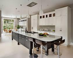 Kitchen Island Design Ideas long kitchen island houzz in long kitchen island with seating