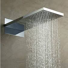 contemporary shower heads. Shower Head: High Quality 304 Stainless Steel Rectangle Rainfall Head Hb53b Rain Contemporary Heads A