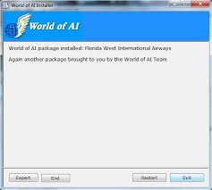 How To Install World Of Ai Flight Plans And Covert Them For Fsx On ...