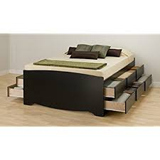 Amazon Espresso Queen Mate s Platform Storage Bed with 6