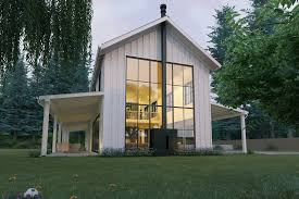 Bedroom House Plans   Houseplans comSignature Modern Farmhouse style plan  modern design home