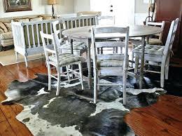 ikea cowhide rug cowhide rug dining room area rugs ikea cowhide rug smell