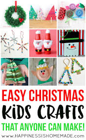 Christmas Photo Frames For Kids Easy Christmas Kids Crafts That Anyone Can Make Happiness