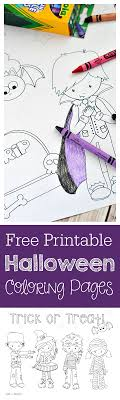 Halloween, short for hallows' evening is a celebration to honor of past loved ones which included saints (hallows) and. Cute Free Printable Halloween Coloring Pages Crazy Little Projects