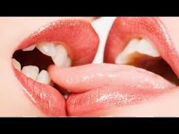Image result for Two women tongue kissing