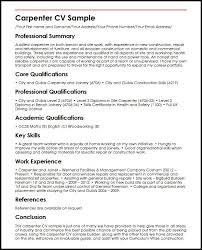 Carpenter Resume Templates Modern carpenter resume template sample current cv tattica 11