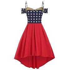 Tea Star Chart Amazon Com Shusuen Women American Flag Printed Swing