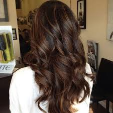 creative dark brown hair color highlights ideas 24
