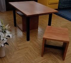 Wohnzimmerz: Couchtisch Mit Hocker With Tisch Möbel ...